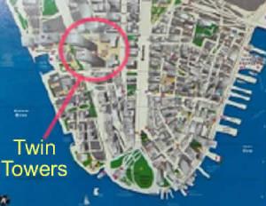 дело, землеустройство где стояли башни близнецы на карте магазинов России других